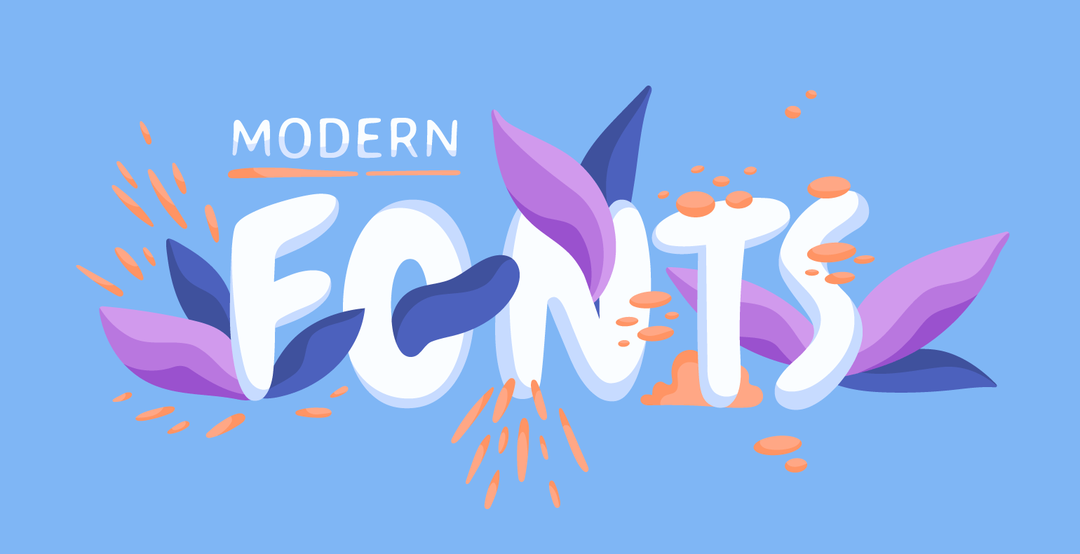 Popular high tech fonts in 2020